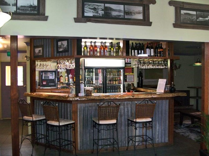 bar available on-site for you to enjoy your favourite drink after an exhausting day